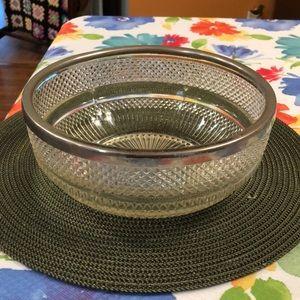 REDUCED - Vintage Serving Bowl
